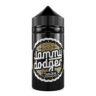 Jammy Dodger Vanilla Custard (80ml) Plus e Liquid by Just Jam Nikotinfrei von Just Jam