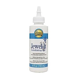 Aleene's 4oz Jewel It Fabric Glue