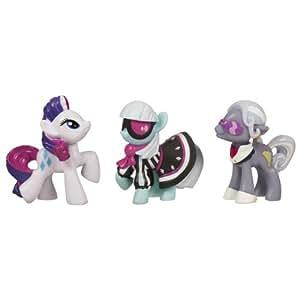 My Little Pony Mini's 3 Pack: Rarity, Photo Finish & Hoity Toity