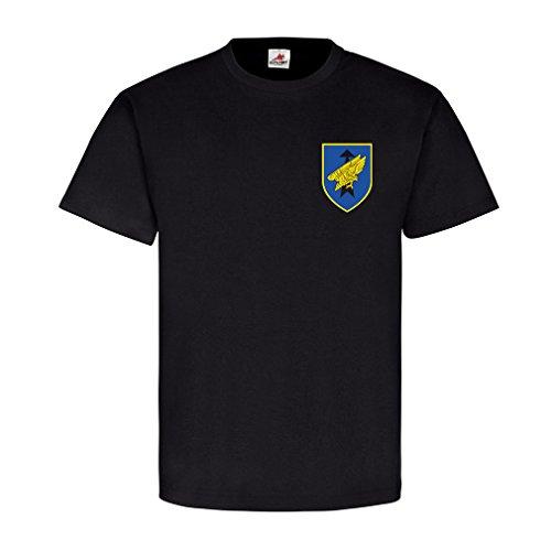 Luftlandebrigade 31 Dso Oldenburg Wappen Abzeichen Emblem - T Shirt #4917, Farbe:Schwarz, Größe:Herren L
