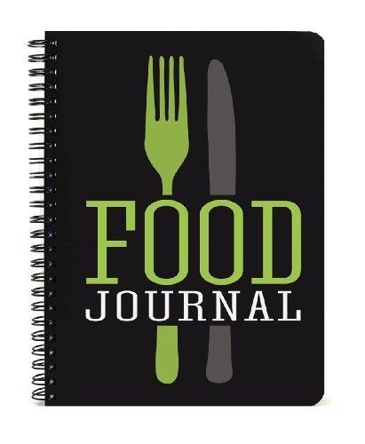 BookFactory® Food Journal / Food Tagebuch / Diät Journal Notizbuch , 120 Seiten - 5