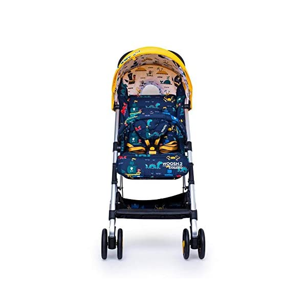 Cosatto CT4226 Woosh 2 Sea Monsters 7.2 kg Cosatto Suitable from birth to max weight of 25kg, lets your toddler use it for even longer Lightweight, sturdy aluminium frame New-born recline 5