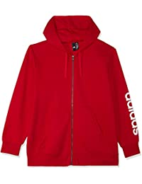 5e78941a2fac adidas Herren Essentials Linear Full Zip Hooded Kapuzen-Jacke