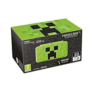New Nintendo 2DS XL Creeper Edition + Minecraft: New Nintendo 3DS Edition – Limited