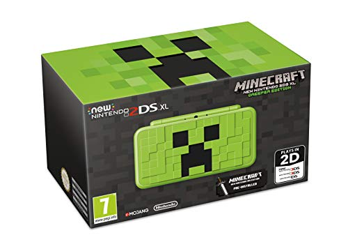 New Nintendo 2DS XL Creeper Edition + Minecraft: New Nintendo 3DS Edition - Limited (3ds Xl Konsole Limited Edition)