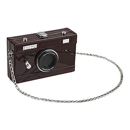 r Kamera ähnlich Handtaschen Daypack Rucksack Schultaschen Schulrucksack Tagesrucksack Umhängetasche Reiserucksack für Schule Reise Arbeit (Weinrot, One Size) ()