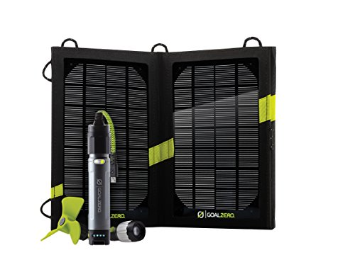 Goal Zero Solaranlage schwarz Einheitsgröße
