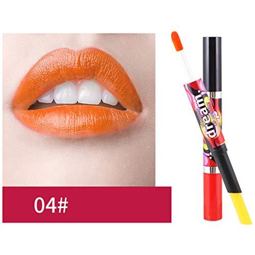 Lippenstift,Förderung,PorLous 2019 Neu Schönheit Dauerhafter Wasserdichter Lip-Liner-Stick-Bleistift 6 Farben Feuchtigkeitsspendend Dauerhaft 4