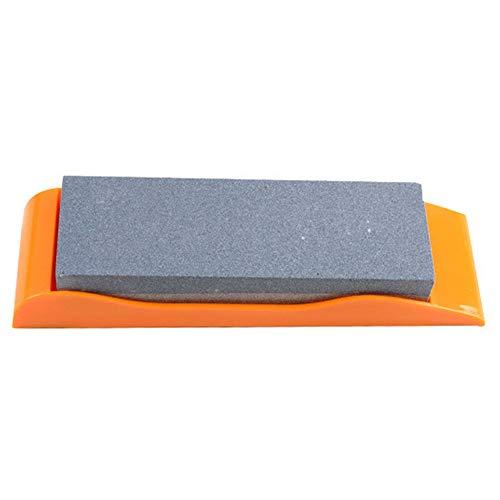 Whetstone Double-Sided Oil Stone Siliziumkarbid Multi-Funktion Knife Sharpener Anti-Skid Base Home Küche essentieller Wetstone -