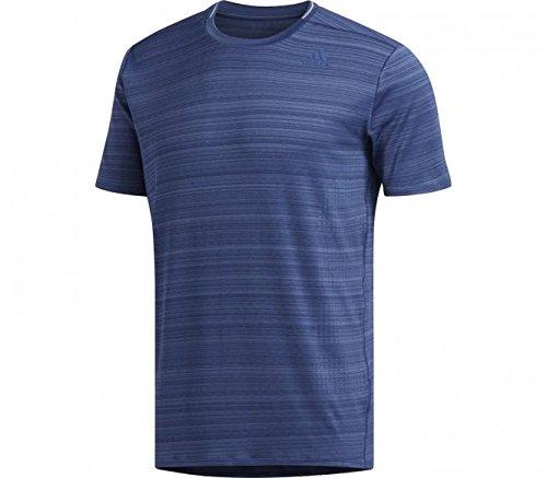 Adidas Running-shirt (adidas Herren Supernova Soft T-Shirt, Noble Indigo, L)