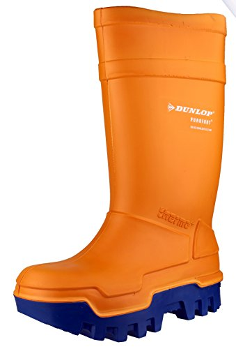 Dunlop Dunlop C662933 Purofort Sicherheit Wellingtons Orange