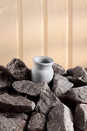 Aromaschale aus Speckstein für den Saunaofen -Amfora- 60 ml (Hukka Design)