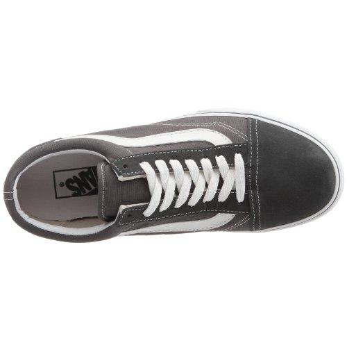 Vans U Old Skool, Chaussures Basses Mixte Adulte Gris