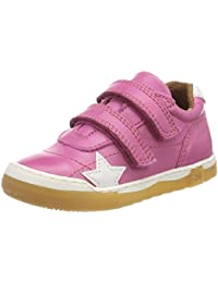Bisgaard Klettschuhe, Baskets Fille, Rose, 26 EU