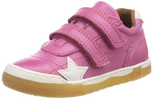 Bisgaard Mädchen Klettschuhe Sneaker, Pink (Pink), 26 EU