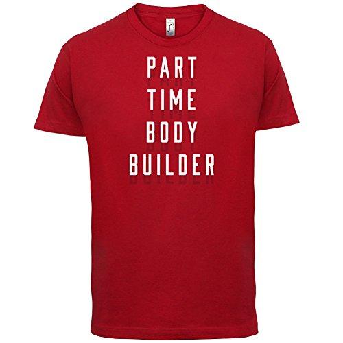 Teilzeit Bodybuilder - Herren T-Shirt - 13 Farben Rot