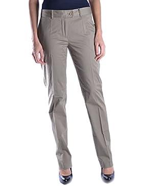 Moschino Mujer MCBI214021O Gris Algodon Pantalón