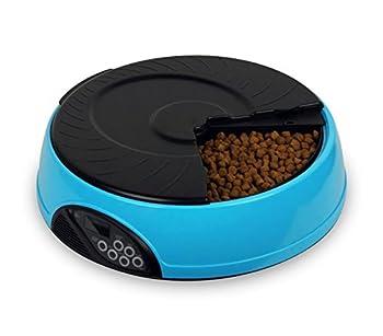955483 Gamelle automatique programmable PET FEEDER pour chien et chat avec timer - Bleu