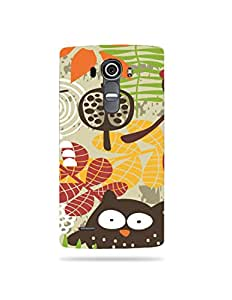 alDivo Premium Quality Printed Mobile Back Cover For LG G4 / LG G4 Printed Mobile Case (XT-037N-3D-E6-LGG4)