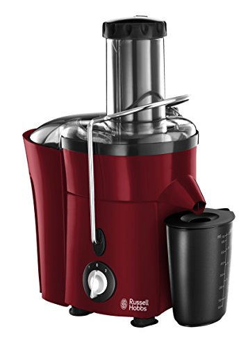 Russell Hobbs Desire - Licuadora (2 velocidades, jarra de 759ml, bloqueo de seguridad, 550 W) color rojo