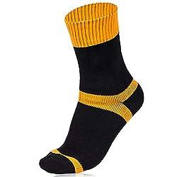 CybGene wasserdichte Socken, wasserdichte Socken Sport, Trekkingsocken für Herren & Damen,wasserdichte Socken Atmungsaktiv Unisex Wandern/Ski Socken, Größe S