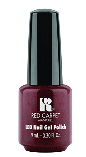 Licht Red Carpet-led Gel (Red Carpet Manicure Gel Polish, Ruby)