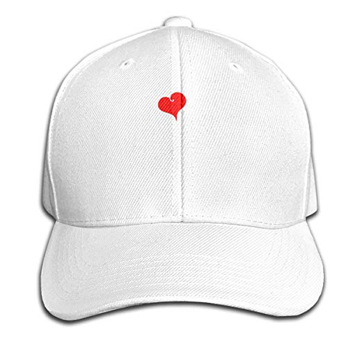 Osmykqe I Love My Pitbull Unisex Sommer Sonnenhut einstellbar lässig Golf Tennis Caps
