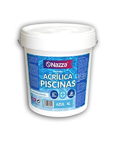 Pintura para Piscina Azul Acrílica Nazza | Pintura apta para permanec