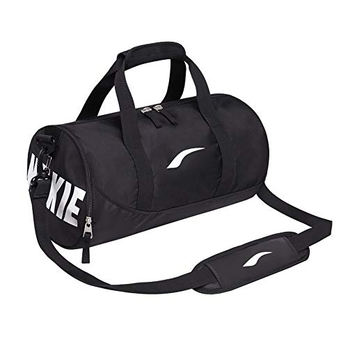 Preisvergleich Produktbild LDHY Einzelne Schulter Slung Kurzstreckenhandgepäcktasche Mode Yoga Tasche Weibliche Sport Fitness Tasche Männlichen Zylinder Trainingstasche - Rosa