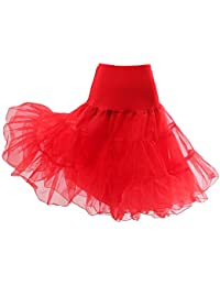 HIMRY jupon Crinoline Petticoat jupon nuptiale de mariage, 2 couches, KXB-0007