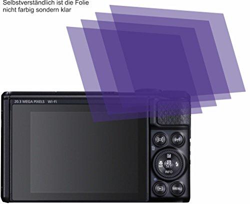 4X ANTIREFLEX Matt Schutzfolie für Canon PowerShot SX740 HS Displayschutzfolie Bildschirmschutzfolie Schutzhülle Displayschutz Displayfolie Folie