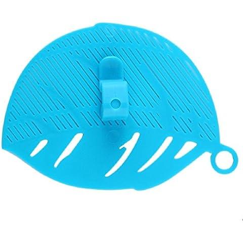 1Pieza Durable Forma de Hoja limpia arroz lavado colador granos guisantes limpieza Gadget cocina pinzas herramientas