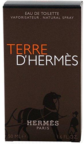 Hermes Terre d'Hermes man, Eau de Toilette, 50 ml, 1er Pack (1 x 50 ml)