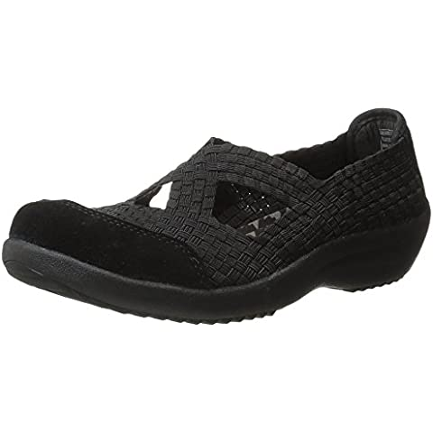 Skechers Women's Savor-Entice Fashion Sneaker,Black,7 M