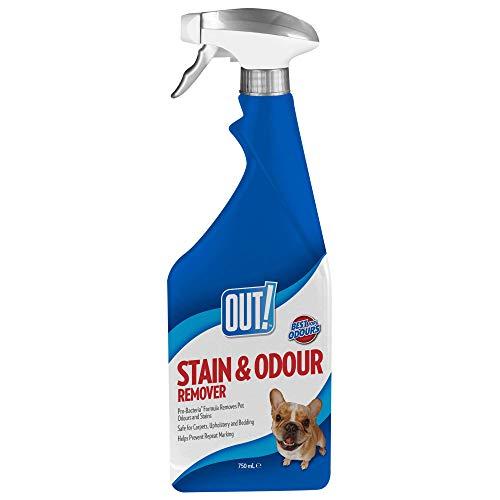 OUT!. Fleck und Geruch Entferner, 750ml (Geruch Und Flecken Entferner Haustier)