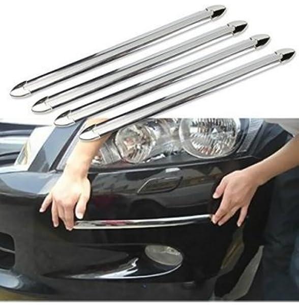 Anzene 4 Stück Schutzleiste Für Stoßstangen Zum Aufkleben Aufprallschutz Für Autos Gegen Abreiben Auto