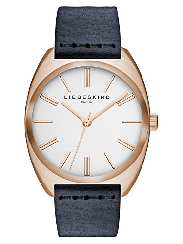 Liebeskind Berlin Unisex-Armbanduhr Vegetable Analog Quarz Leder LT-0022-LQ
