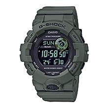 CASIO Mens Digital Watch with Resin Strap GBD-800UC-3ER