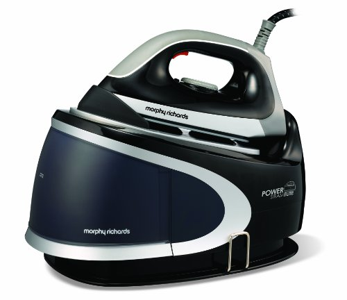 morphy-richards-42221-power-steam-elite-pressurised-steam-generator-with-ceramic-soleplate-black