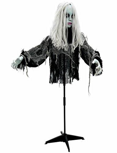 Halloween Animatronic Figur Zombie Girl