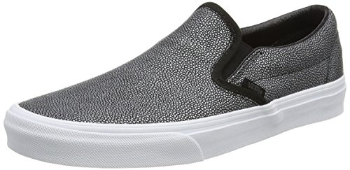 Vans Authentic, Sneakers Basses Mixte Adulte Noir (Embossed Stingray black)