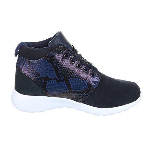 Chaussures pour Homme, 508–8de 1, Baskets Sneakers Chaussures de sport Bleu - Bleu