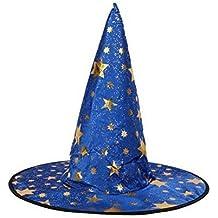 H stella a cinque punte Halloween strega cappello mago performance berretto  Blue cc4d497c0f4e