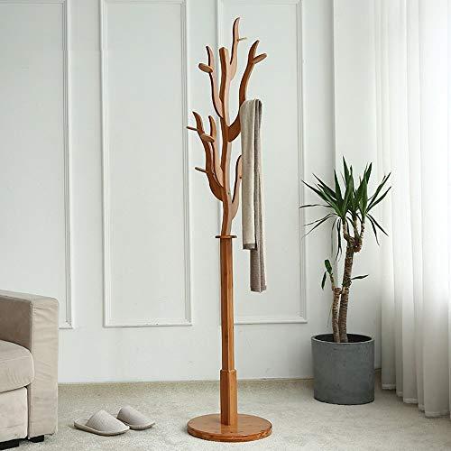 IG Percheros Perchero pie Perchero bambú Forma árbol