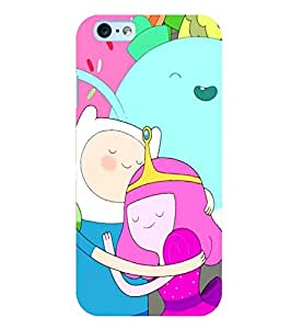 Citydreamz Cute Cartoon Hard Polycarbonate Designer Back Case Cover For Apple Iphone 4/4S