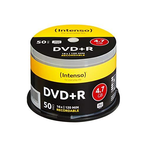 Intenso DVD+R 16x Speed 50er Spindel DVD-Rohlinge 120 Gb-dvd-cd