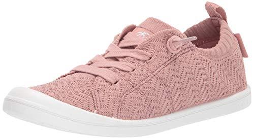 Roxy Damen Bayshore Slip On Sneaker Shoe Turnschuh, Mauve Wine, 36.5 EU (Von Sneaker Roxy)
