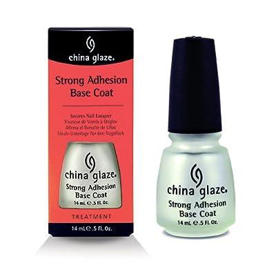 (3 Pack) CHINA GLAZE Strong Adhesion Base Coat - CGT902