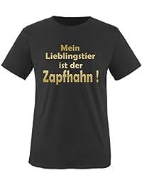 Mein LIEBLINGSTIER ist der ZAPFHAHN! - Herren Unisex T-Shirt Gr. S bis XXL Diverse Farben