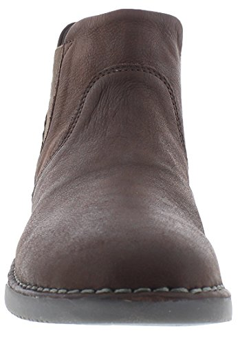 Softinos Damen Tep413sof Smooth Chelsea Boots Dunkelbraun